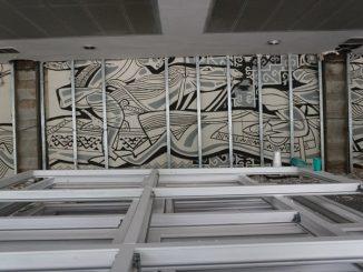 art, wall, Almaty